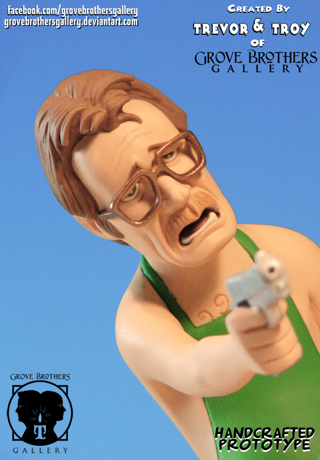'Breaking Bad' GroveBro Toons Walter White1 by TrevorGrove