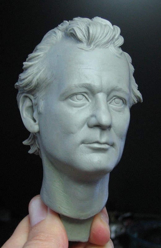 Bill Murray Sculpt by TrevorGrove