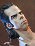 Nick Cave Bust