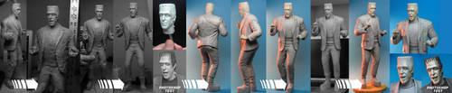 WORK-IN-PROGRESS series: Herman Munster by TrevorGrove