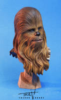 Chewbacca Bust by TrevorGrove
