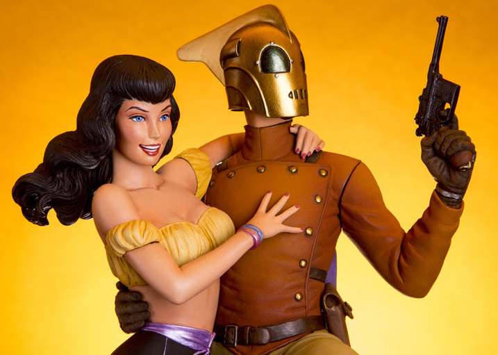 Mondo - Rocketeer and Betty by TrevorGrove