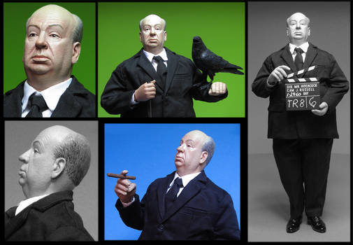 Mondo Hitchcock Production Figure