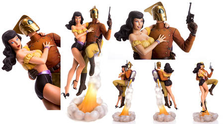More Rocketeer and Betty by TrevorGrove