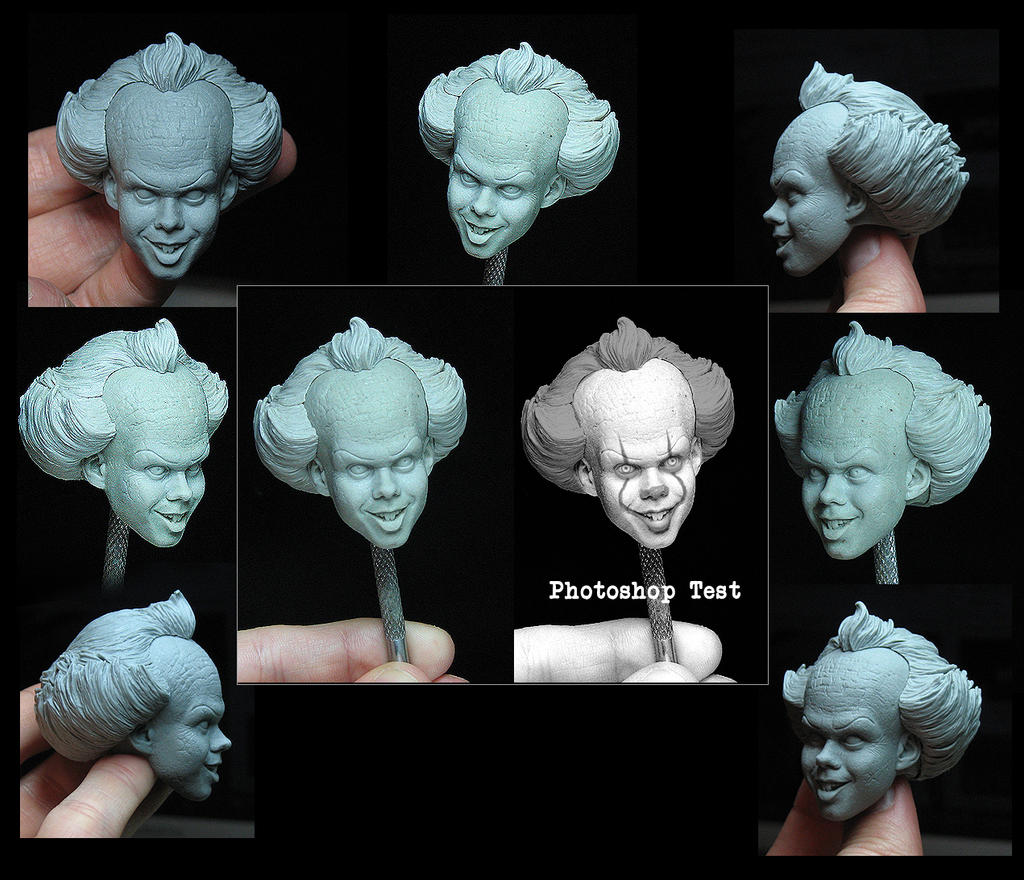 NECA Pennywise 2017 by TrevorGrove