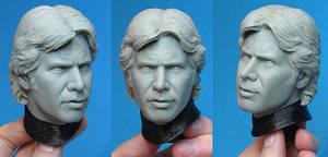 Han Solo Stormtrooper Portrait by TrevorGrove