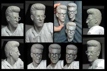 HCG Ghostbusters Egon by TrevorGrove