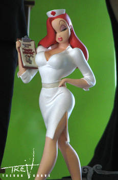 Tummy Trouble Jessica Rabbit