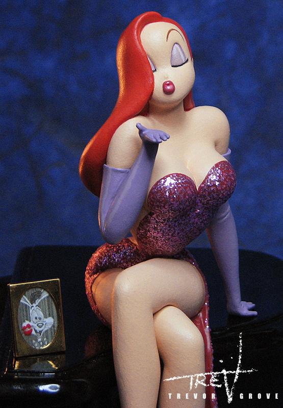 Jessica Rabbit (close up) by TrevorGrove