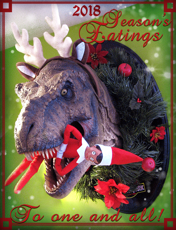 Trex Christmas Card by TrevorGrove