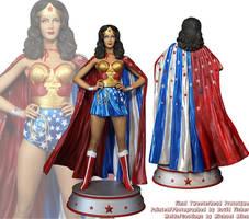 Tweeterhead Wonder Woman in Cape by TrevorGrove