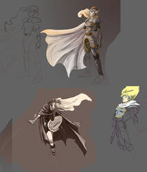 Celes concepts by FF6-Project