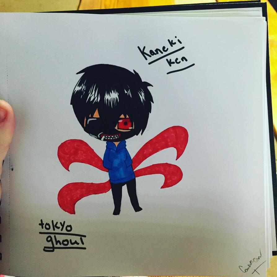 Chibi Kaneki ken by swimrules1