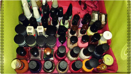 2016-10-30 Nail Polish collectsion by Wonderfuday