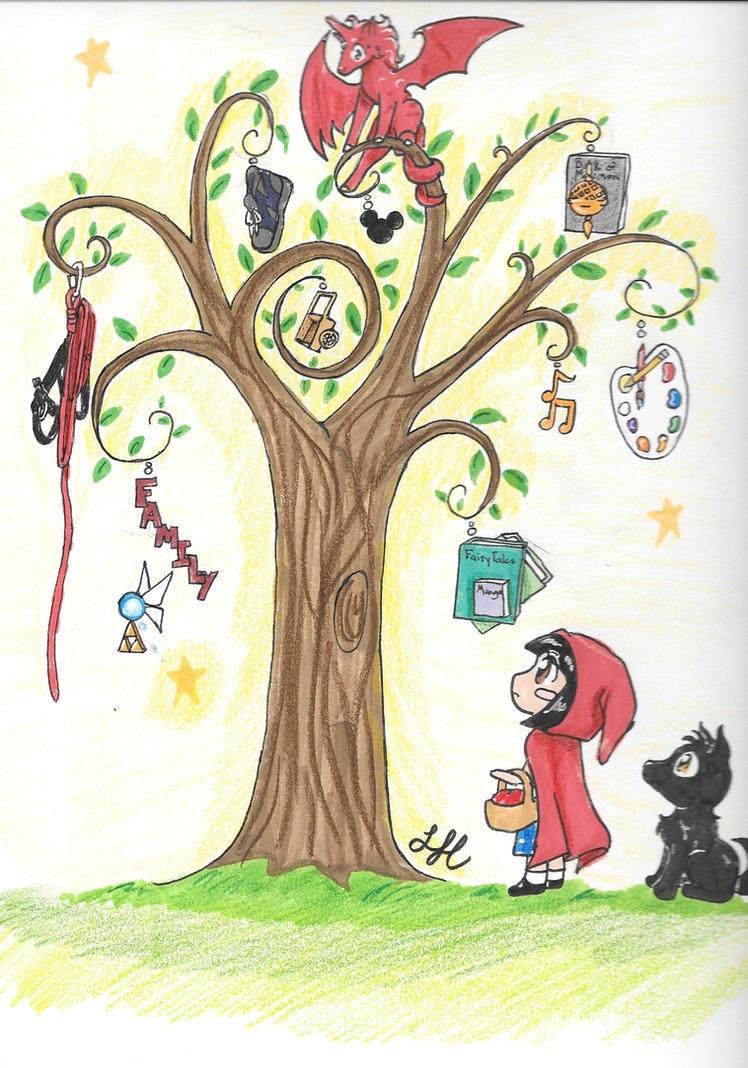 Random Tree by AngelicDragonElf