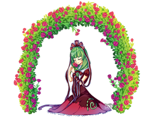 Commission : Roses Arch