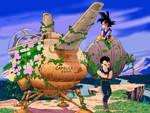 Goku and Vegeta DB GT