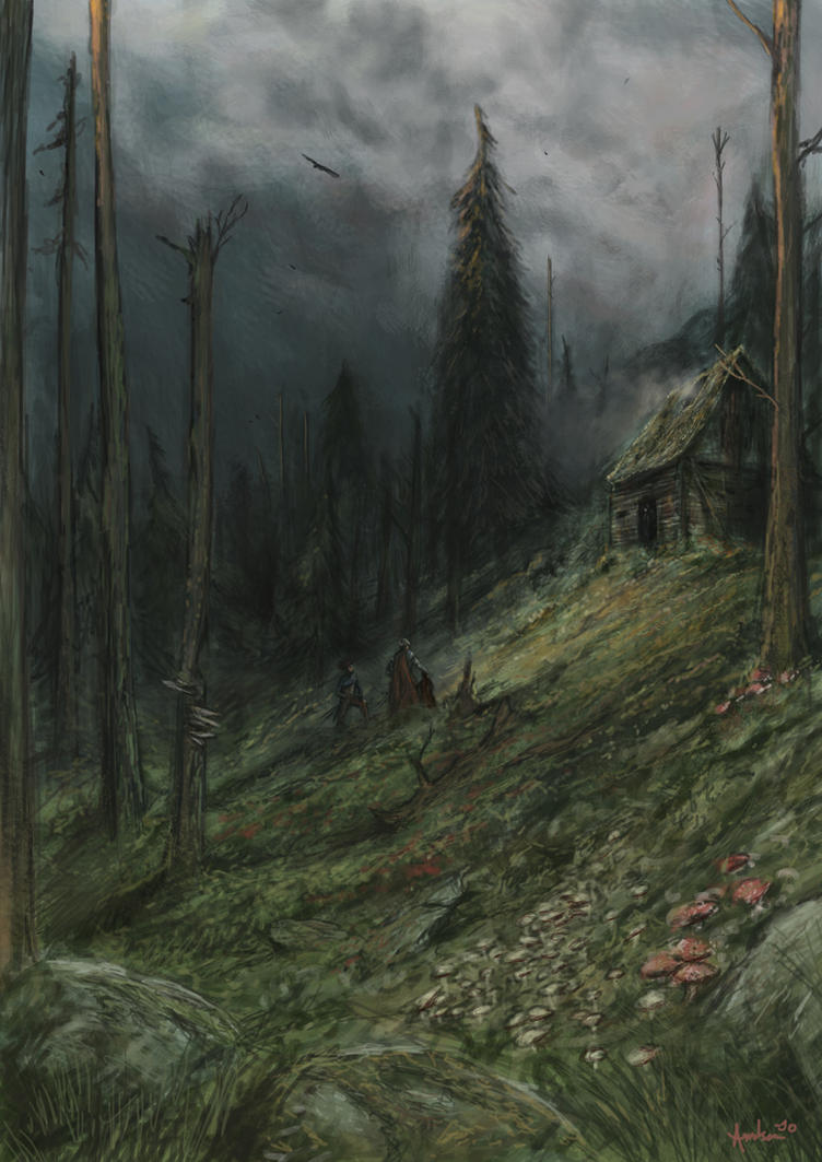 Seeking the Witch of the Woods by TobiasRyenAmundsen