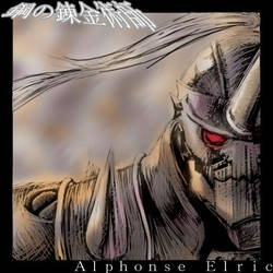 Alphonse Elric by dapplex