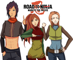 /Naruto: road to ninja/