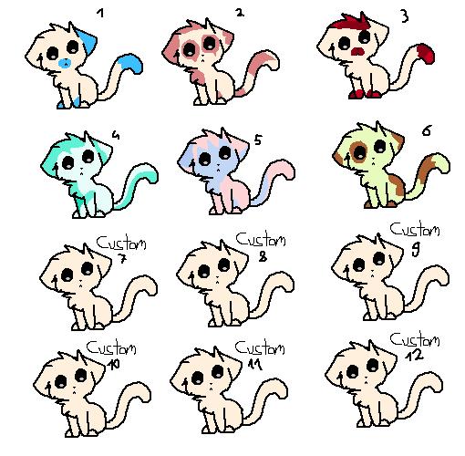 Cat Adopts 2 by KitCatKombo
