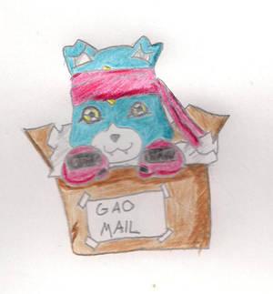 Chibi Gaomon in Box