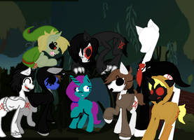 Aurora and the Creepy Pastas by FierceAustinDeadbolt