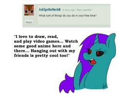 Ask Aurora #1 by FierceAustinDeadbolt