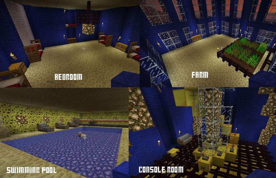 Minecraft TARDIS Interior by thenextdoctor42