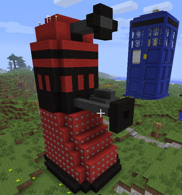 Minecraft Dalek by thenextdoctor42