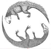 Dancing Dragons by Sinande