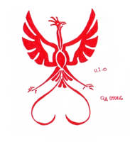 Red Phoenix by Sinande
