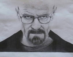Walter White from Breaking Bad by PaoloAnolfo