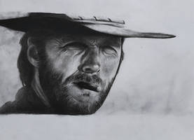 Clint Eastwood by PaoloAnolfo