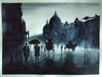 Rain by PaoloAnolfo