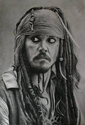 Jack Sparrow by PaoloAnolfo