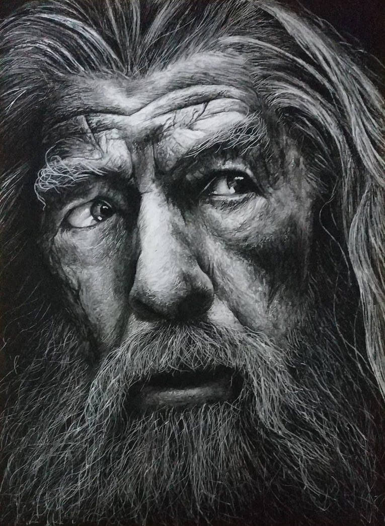 Gandalf the Grey by PaoloAnolfo