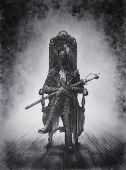 Lady Maria from Bloodborne