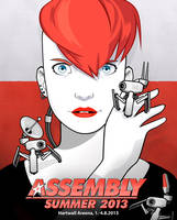 Assembly Poster by Pictoyd