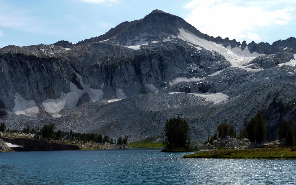 Glacier Lake in the Eagle Cap Wilderness by Beausoliel