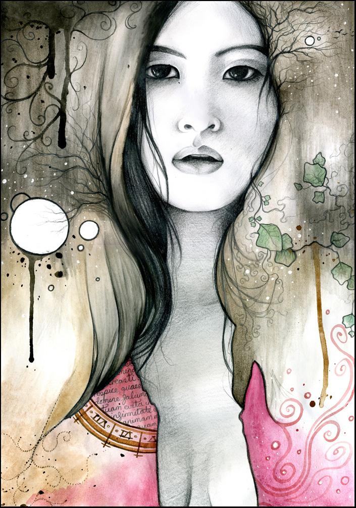Oriental Portrait I
