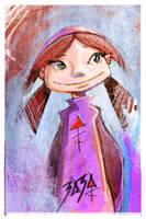 Zaza rough sketch #2 by popChar