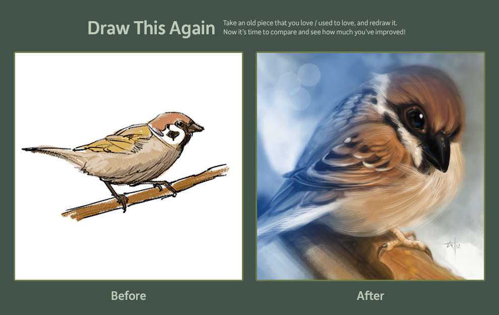Sparrow old and new