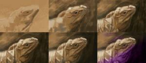 WIPs Lizard
