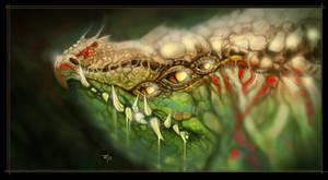 Lizard #2 by popChar