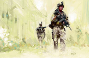 US Marines by popChar