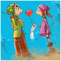 Gwizdo and Zaza Valentine by popChar
