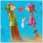 Gwizdo and Zaza Valentine