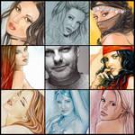 art vs artist popChar by popChar