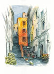 Alley in Rome